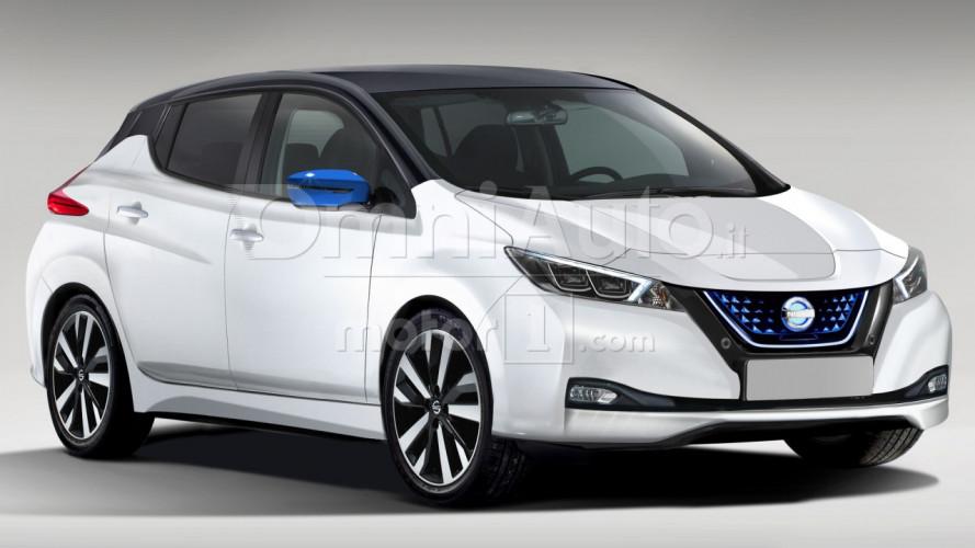 Nissan Leaf, la nuova generazione non ha (quasi) più segreti