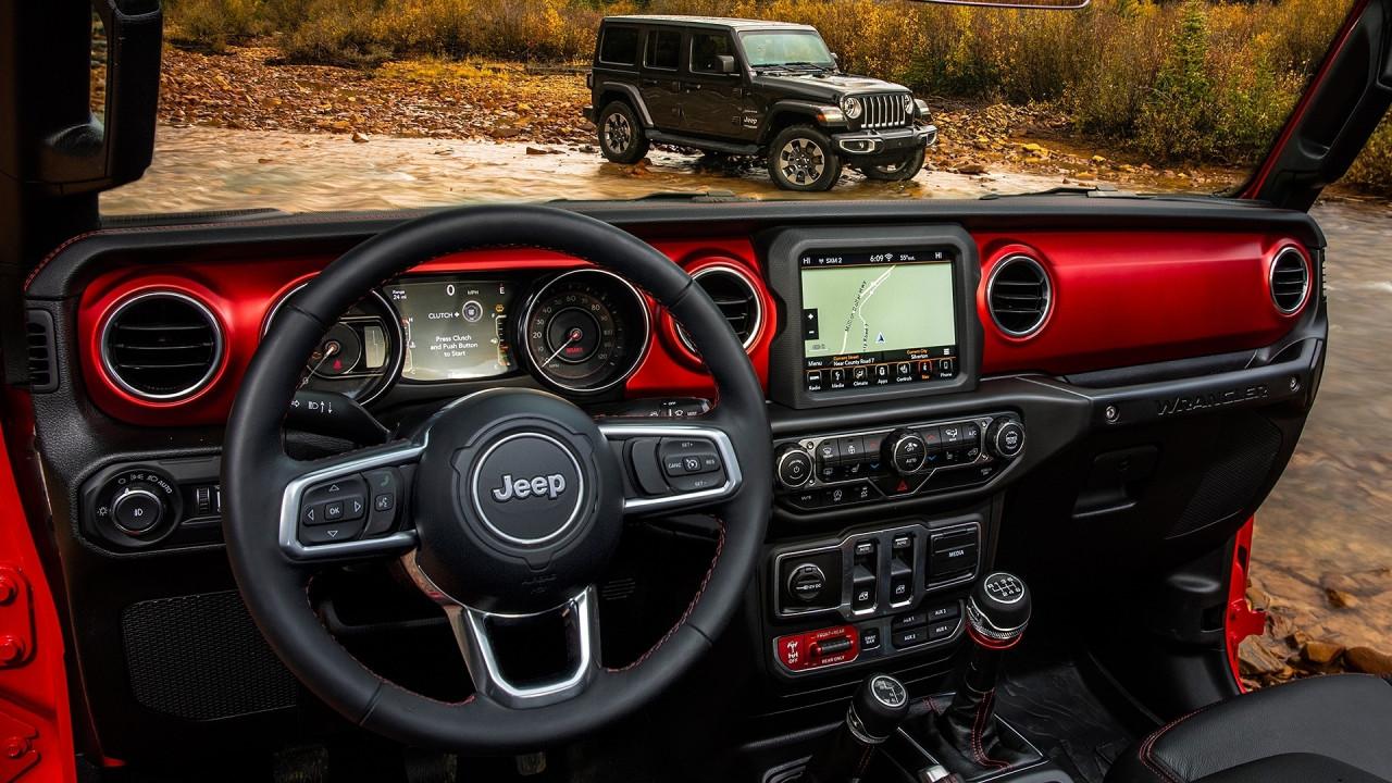 [Copertina] - Nuova Jeep Wrangler, ecco com'è dentro