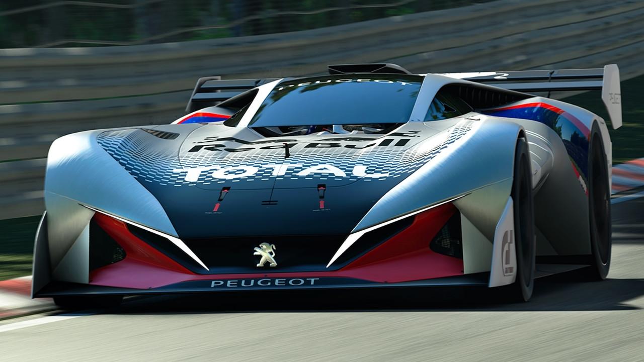 [Copertina] - Peugeot L750 R HYbrid Vision Gran Turismo, leggera come l'aria