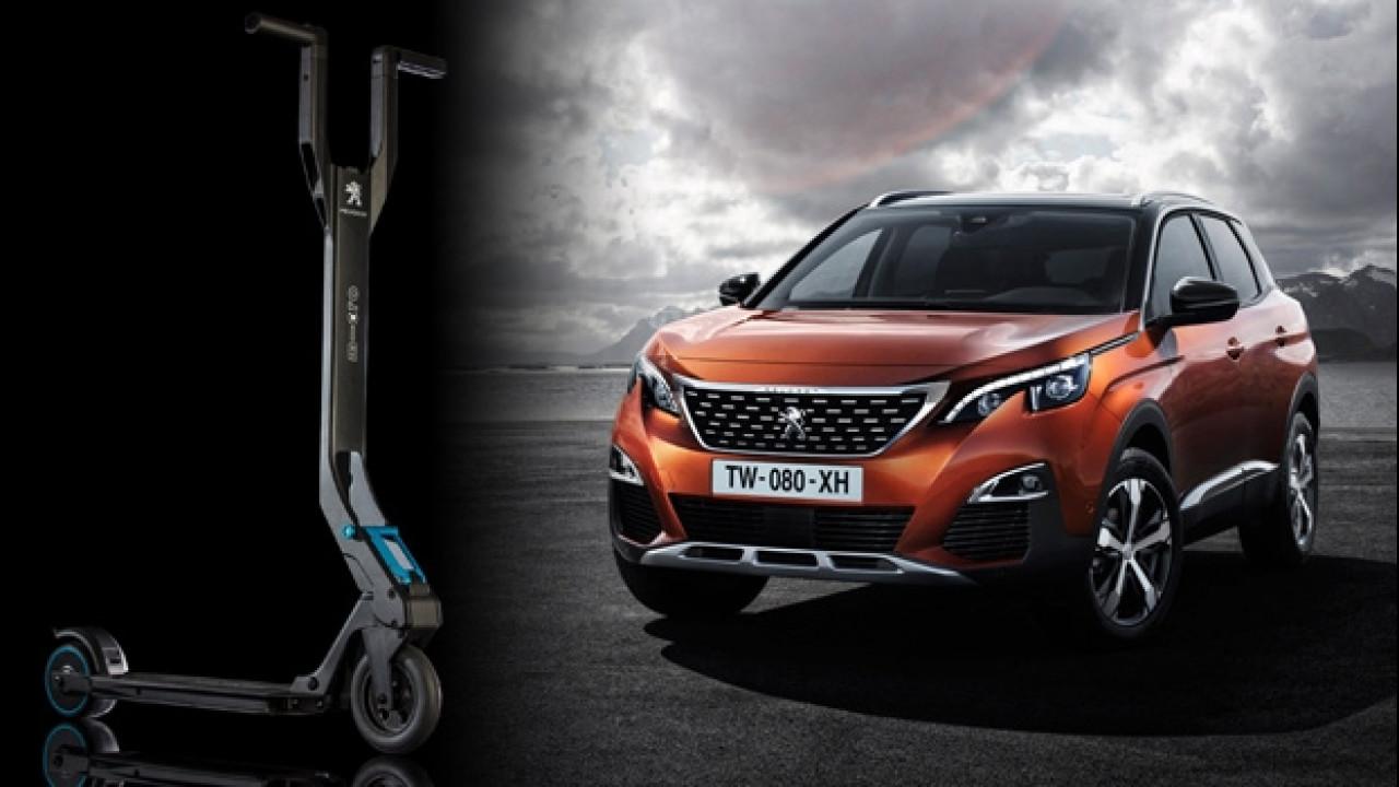 [Copertina] - Nuova Peugeot 3008, il SUV col monopattino elettrico incluso