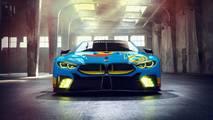 BMW M8 GTE Art Car Render