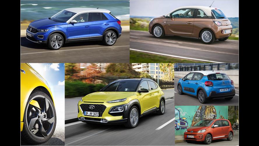 Die treiben es bunt: Mehrfarbige Autos