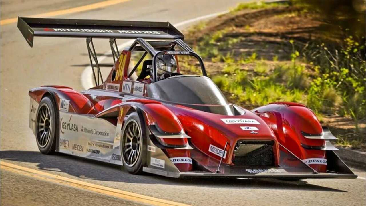 Mitsubishi MiEV Evolution III Fastest In First Two Qualifying Sessions At Pikes Peak