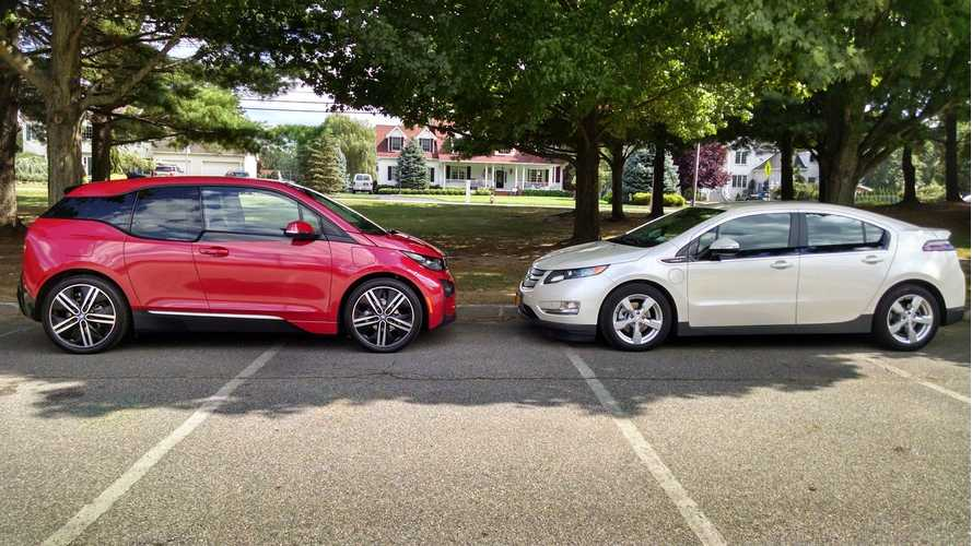 BMW i3 REx Versus Chevy Volt - Real-World Comparison Test