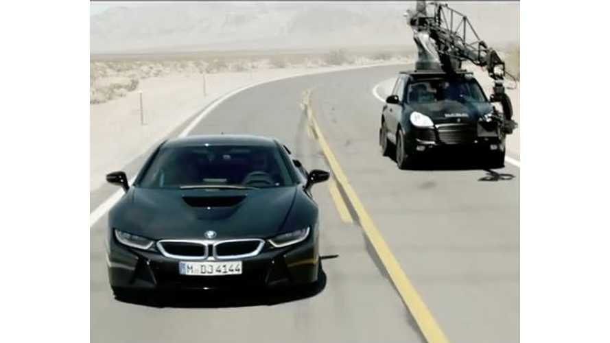 BMW i8 Commercial - The Making Of Video