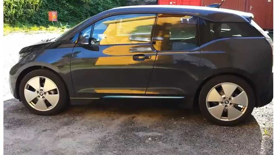 See The First-Ever Diesel-Powered BMW i3 - Video