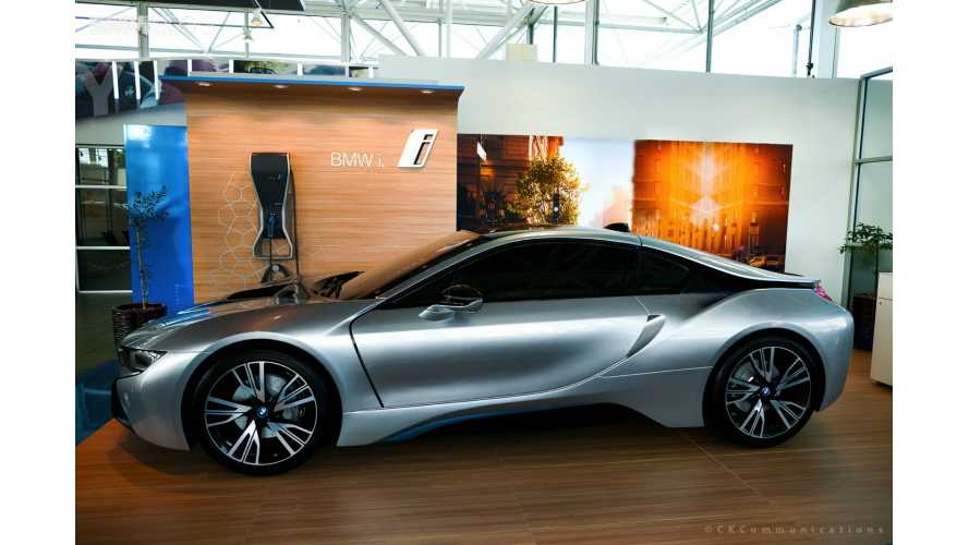 Full-Size BMW i8 Replica For Sale On eBay