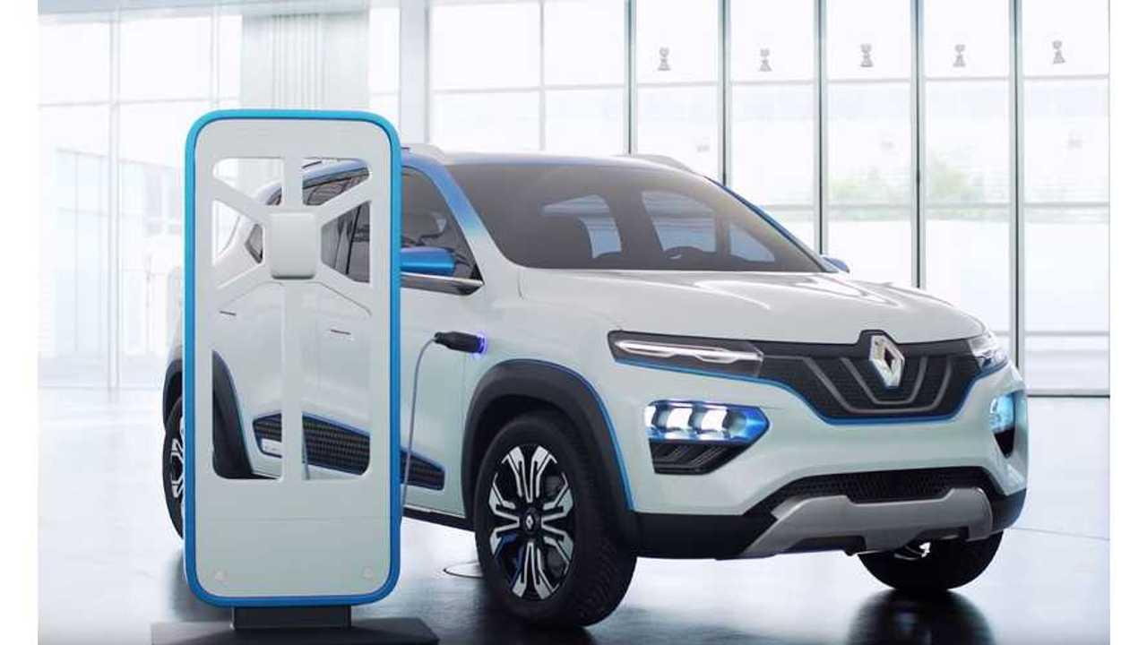 Renault Unveils New K-ZE SUV-Inspired, Affordable EV