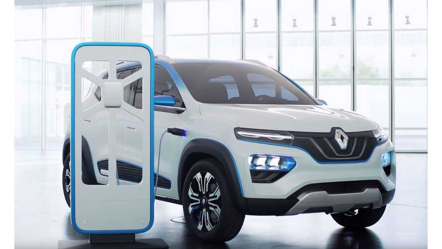 Renault Unveils New K-ZE SUV-Inspired, Affordable EV