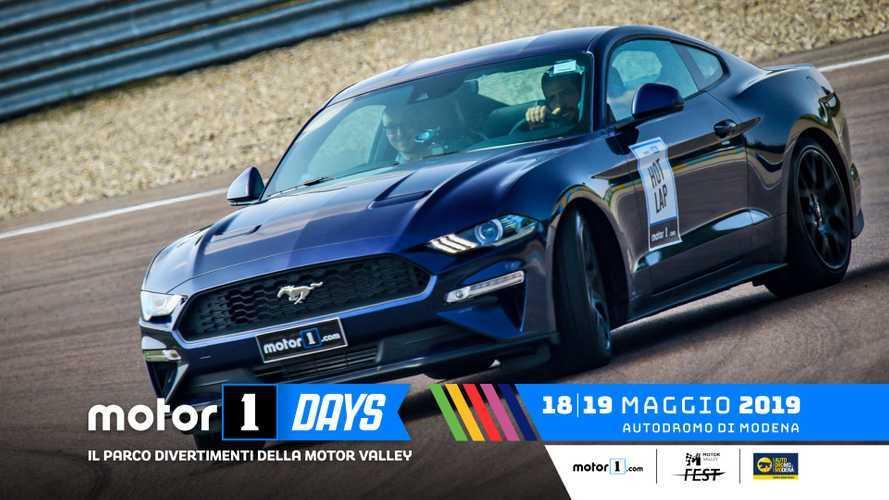 Ford scatena i suoi cavalli al Motor1Days 2019