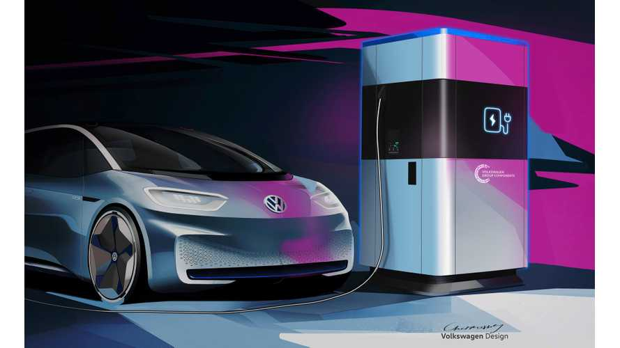 VW Mobile Fast Charging Station Confirmed For Volume Production