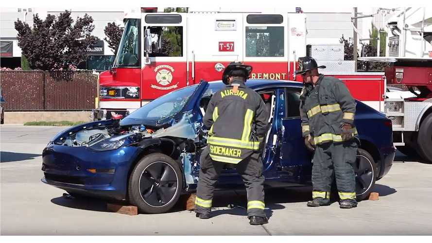 Tesla Model 3 Emergency Response Guide: Video