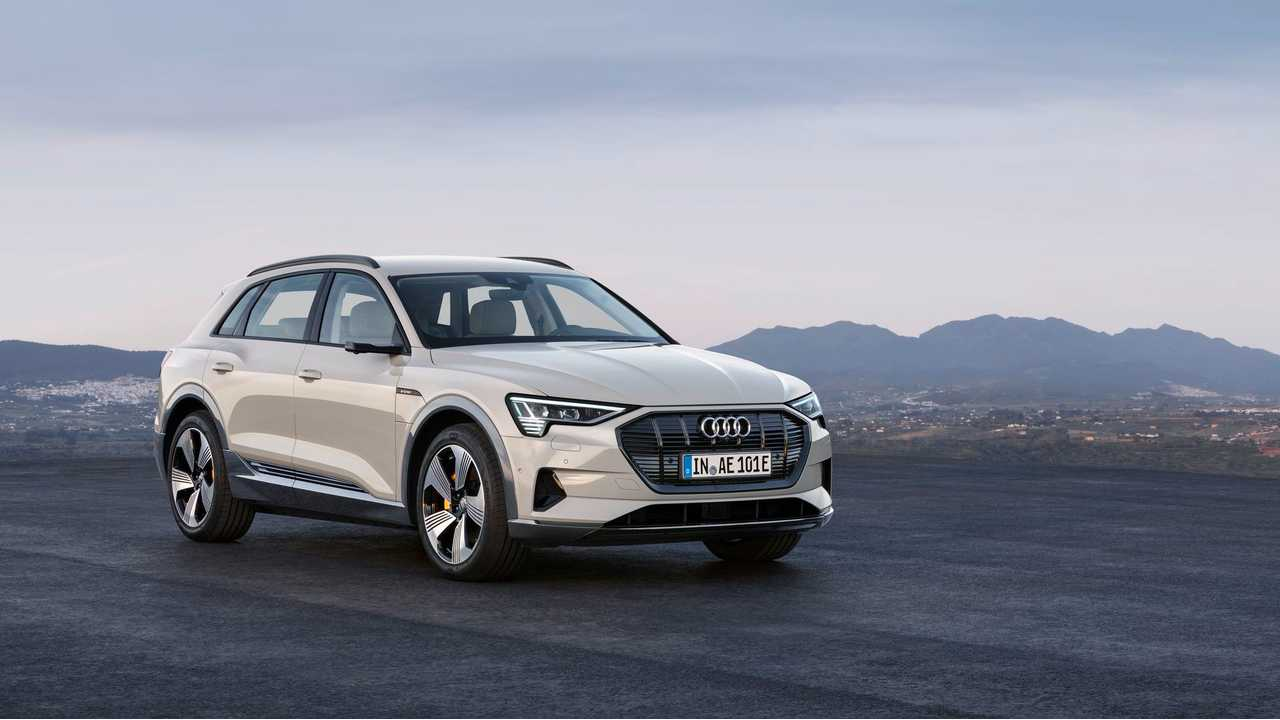 Audi E-Tron Electric SUV Charges At Sustained 150-kW Rate