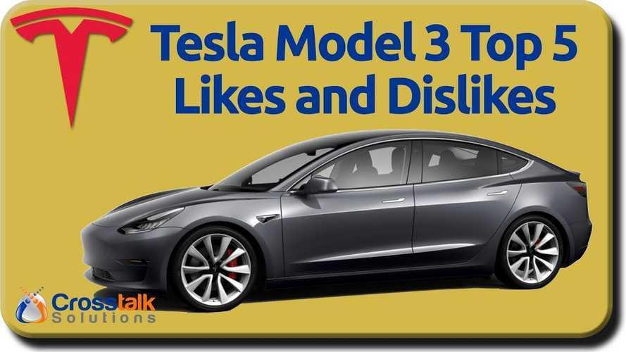 Tesla Model 3: Top 5 Likes & Dislikes