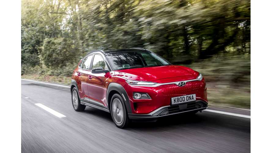 "Hyundai Kona Electric Makes Ward's 2019 10 Best ""Engines"" List"