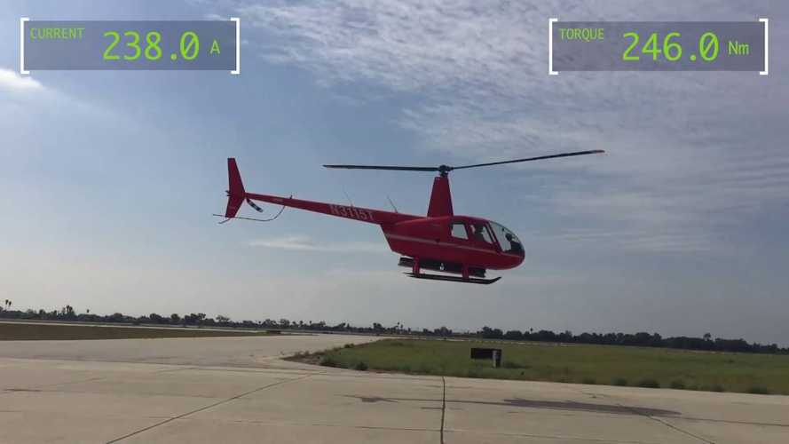 Electric Helicopter Flight Sets Guinness World Record: Video