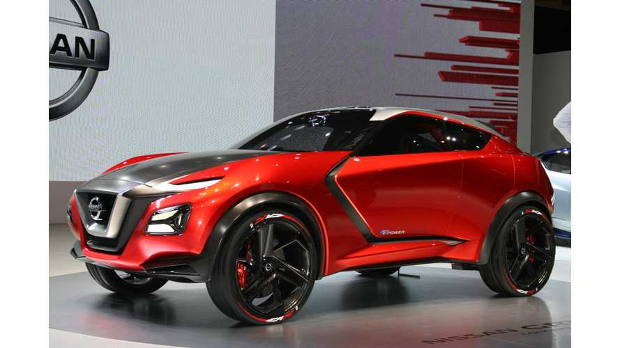 Nissan Gripz Plug-In Hybrid Concept At 2015 Tokyo Motor Show