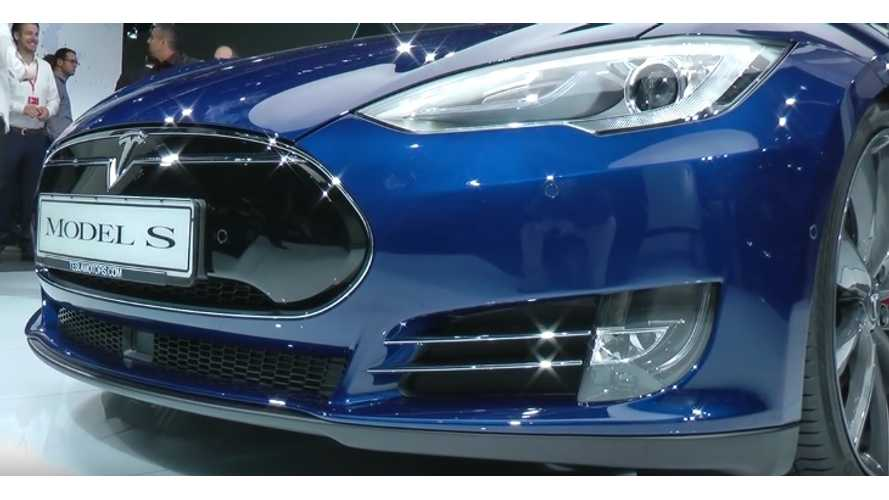 Top Gear Test Drives Ludicrous Tesla Model S P90D
