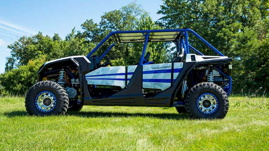 Nikola Zero UTV Driving Footage And Launch Videos
