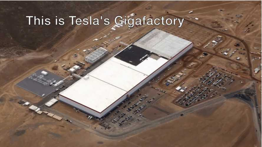 Tesla Gigafactory Not So Giga Yet