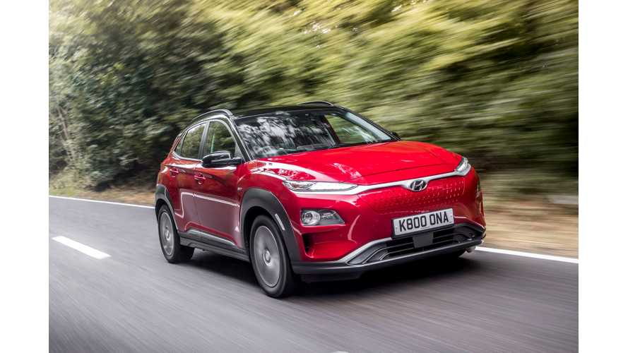 Hyundai Kona Electric Sales Surge To New Record In South Korea