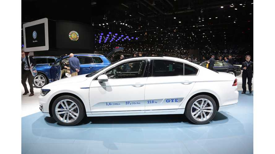 Volkswagen Passat GTE Priced From €44,250 In Germany