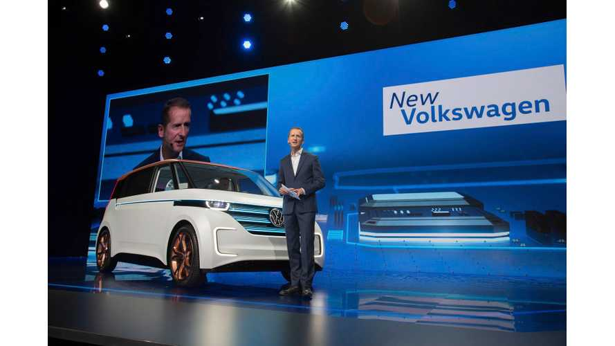 Volkswagen BUDD-e At The 2016 CES, 600KM* Range Anyone? (Videos)