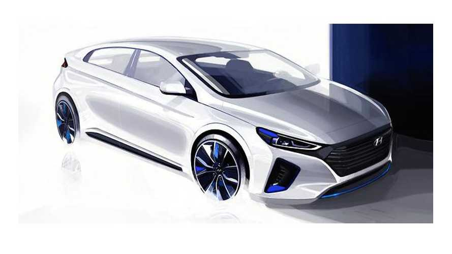 Hyundai Releases More Images Of Upcoming Ioniq - Which Includes BEV, PHEV