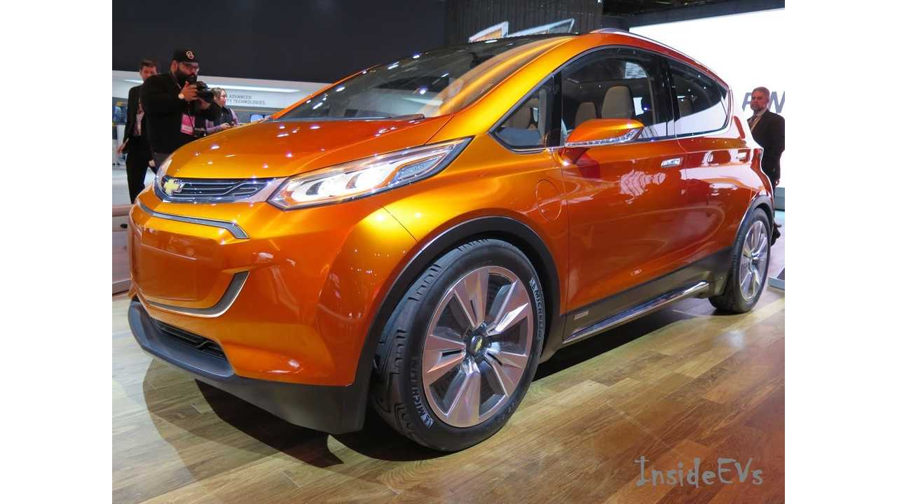 The 2018 Chevrolet Bolt Will Come With LG Chem Batteries Inside