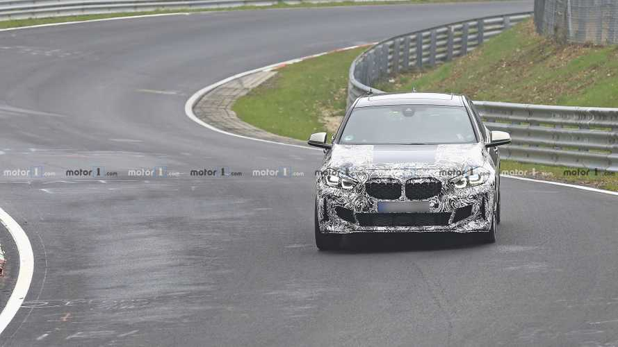 2020 BMW 135i spy photos