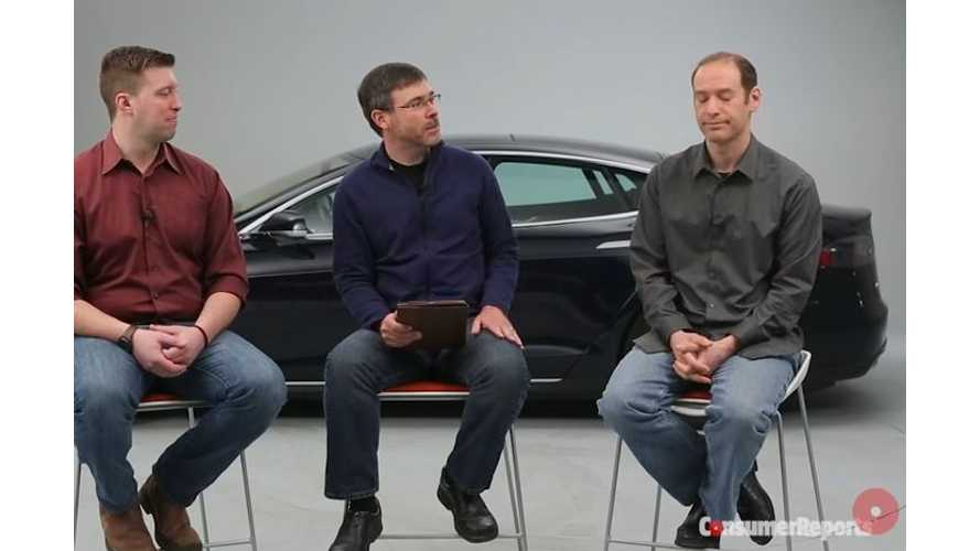 Consumer Reports Discusses Tesla & Self-Driving Cars - Video