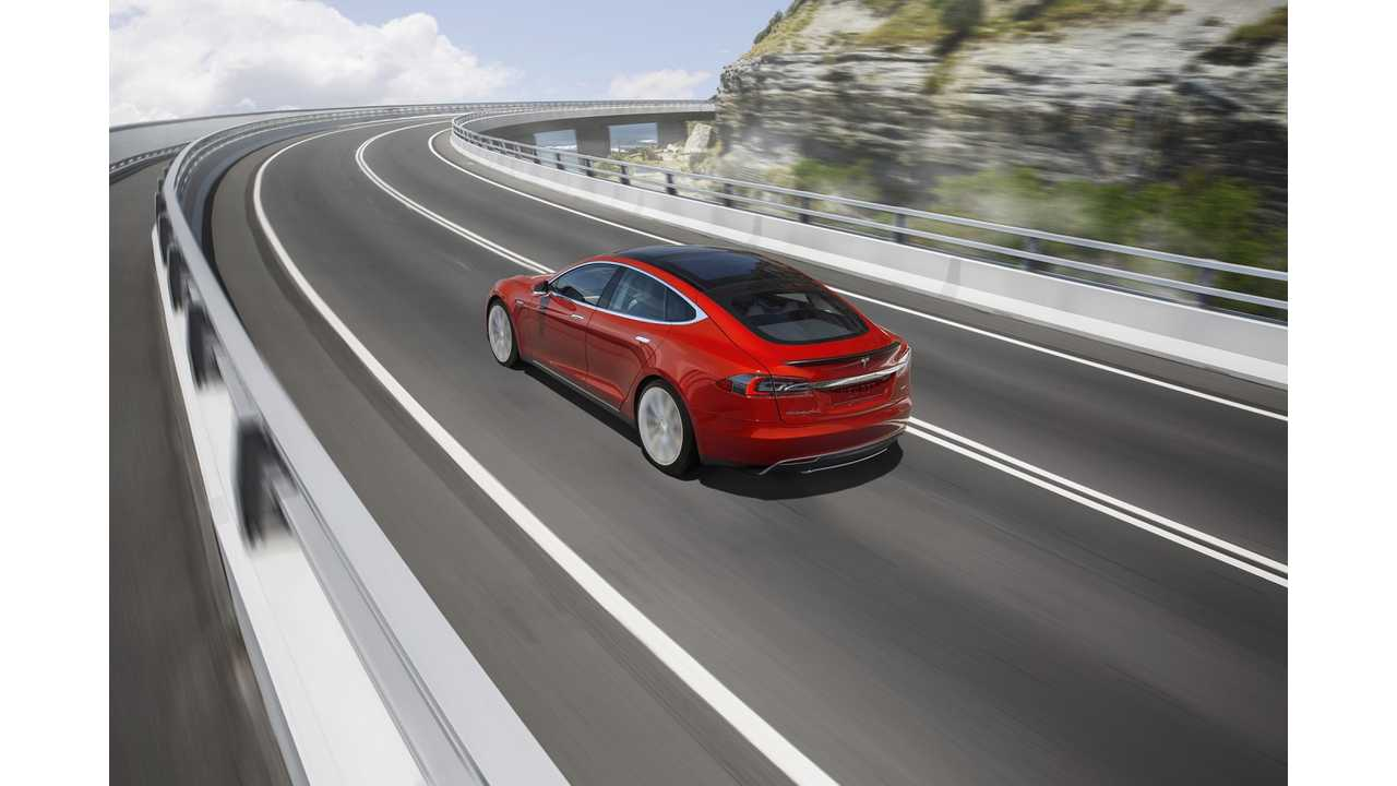 Tesla Model S End-Of-Range-Anxiety Announcement, P85D Top Speed Increase and Valet Mode