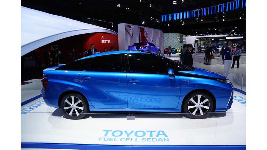 Toyota Fuel Cell - How Does It Work? - Video