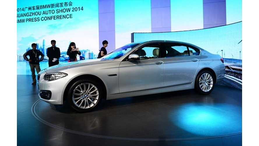 BMW 530Le Plug-In Hybrid Debuts In China