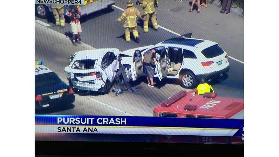 Horrific Crash Involving Chevy Volt - Both Occupants Okay (w/video)