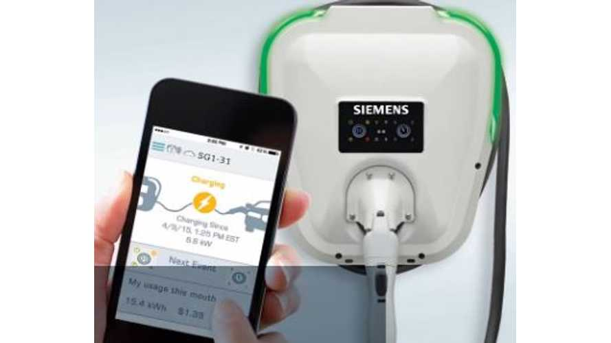 Siemens Introduces VersiCharge SG Wi-Fi Enabled Residential Electric Car Charging Station