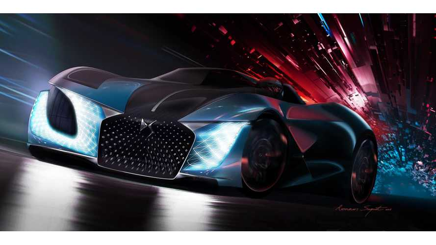 DS X E-TENSE - 1000 kW Piece Of Art Debuts In Beijing