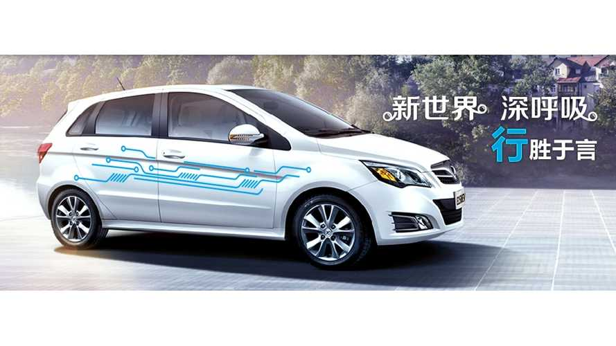 Plug-In EV Sales In China Increase By 106% In October To 91,000
