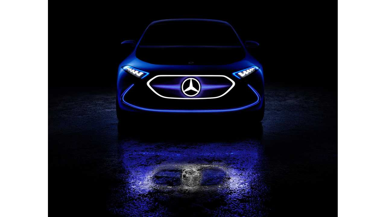 Mercedes-Benz To Unveil First Production EQ Electric In Geneva