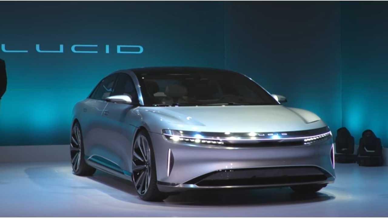 Lucid Motors Won't Make A Tesla Model 3 Competitor Anytime Soon