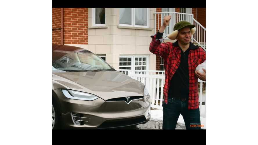 "Tesla ""Project Loveday"" Commercial Contest Entry Goes Another Way With It - Video"