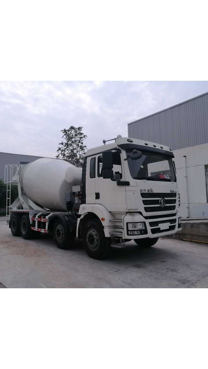 Efficient Drivetrains delivers industry-first PHEV construction truck. EDI PowerDrive™ 8000 integrated into Shaanxi Automotive Class-8 Cement Mixer Truck