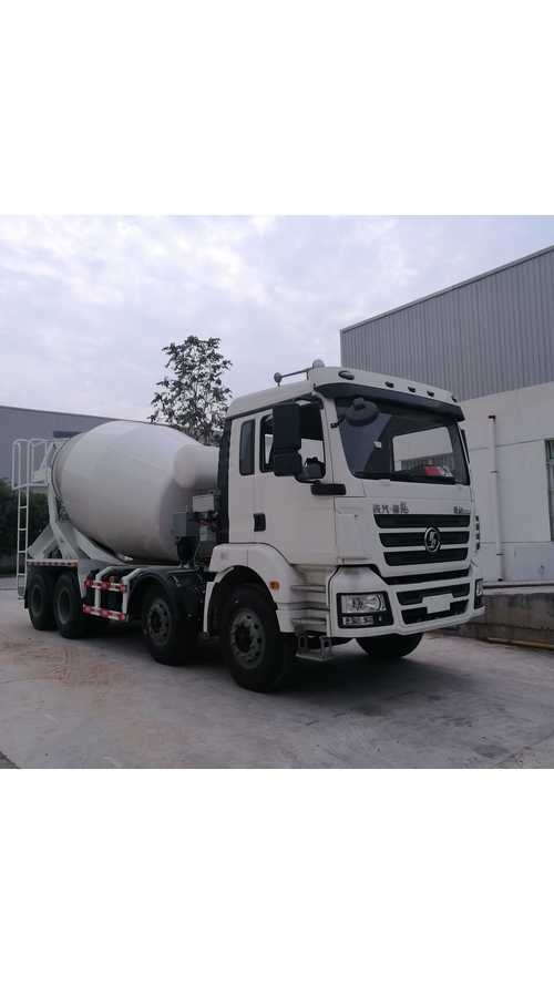 World's First PHEV Cement Mixer