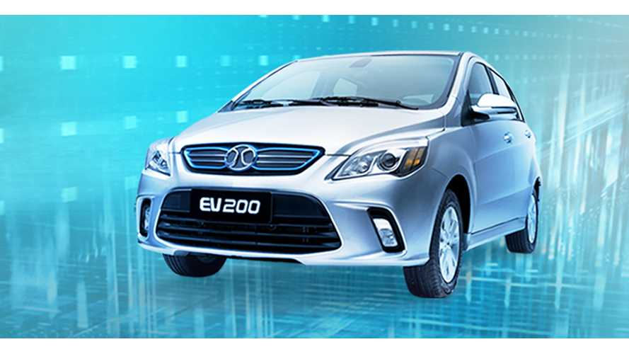 Sales Of Plug-in Electric Vehicles In China Up In September Nearly 80%