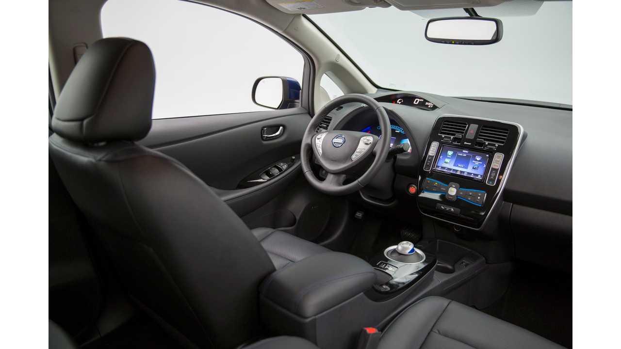 Inside the 2016 Nissan LEAF
