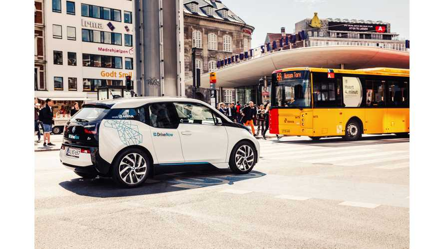 400 BMW i3s Headed For DriveNow Car Sharing Service In Copenhagen