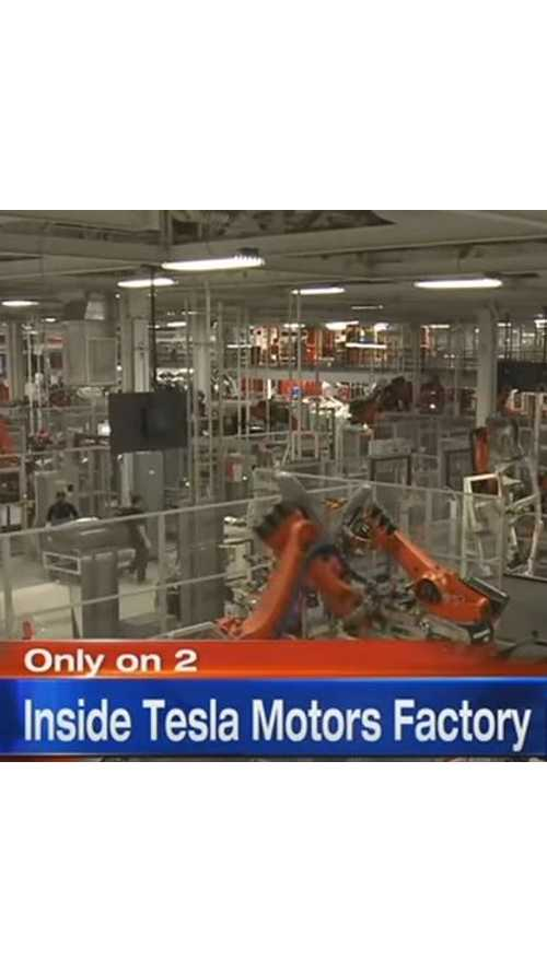 Inside Tesla's Fremont Factory, A Look Into Gigafactory Future - Video