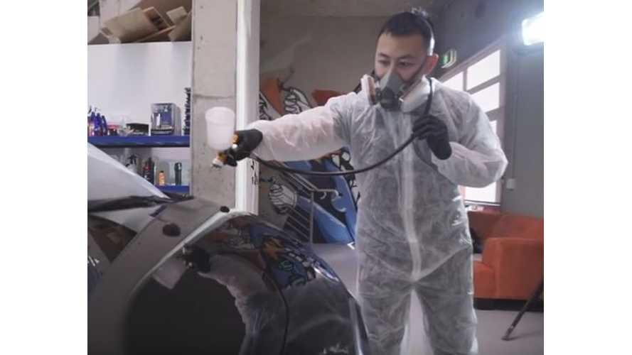BMW i3 Gets Opti Coat Treatment - Video