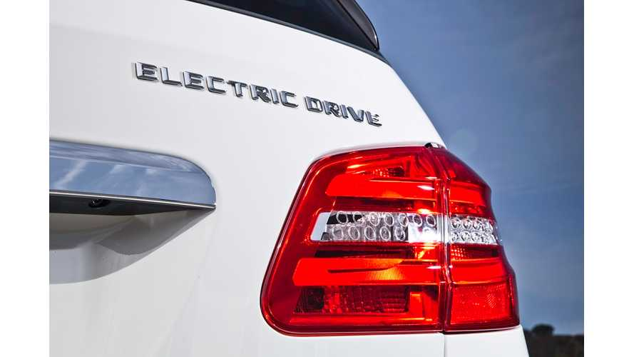 "Mercedes-Benz To Ditch ""Electric Drive"" Name In Favor Of ""e"""