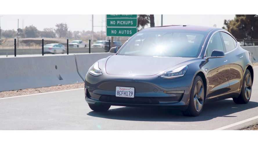 Edmunds Tests Tesla Model 3 OTA Braking Update
